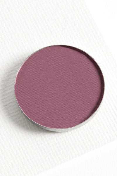 Silver Lining matte dusty purple pressed powder eye shadow
