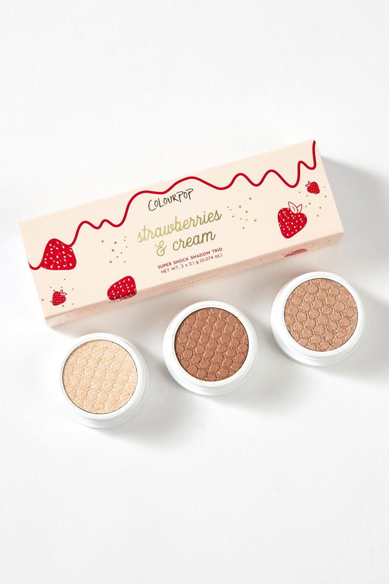 Strawberries and Cream Super Shock eyeshadow Set