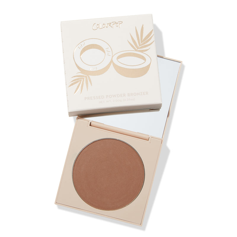 Talk to the Palm A neutral matte warm bronzer