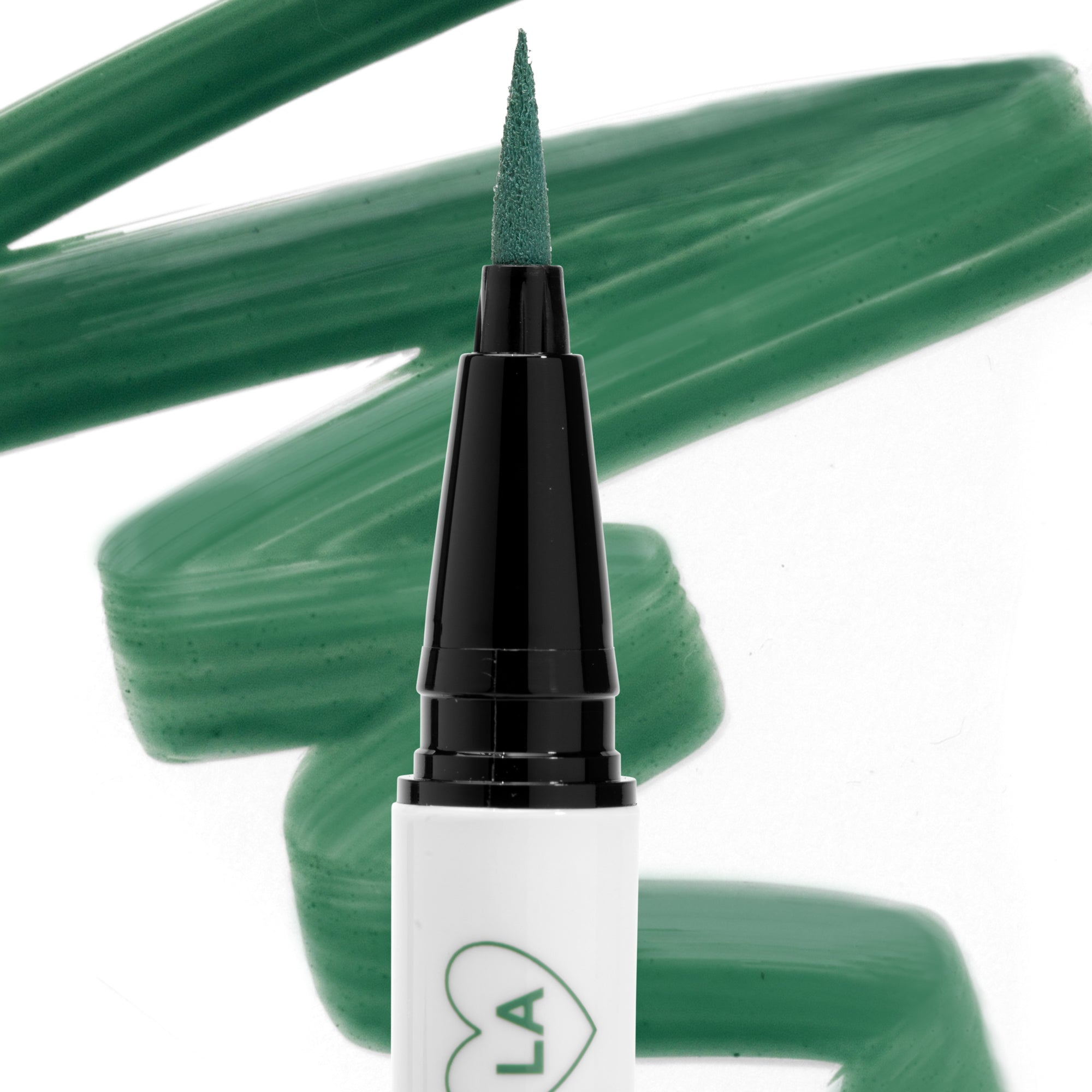 ColourPop BFF Liquid Liner The Hills muted emerald green an ultra-fine felt tip liquid eyeliner that delivers intense pigmentation in one easy swipe