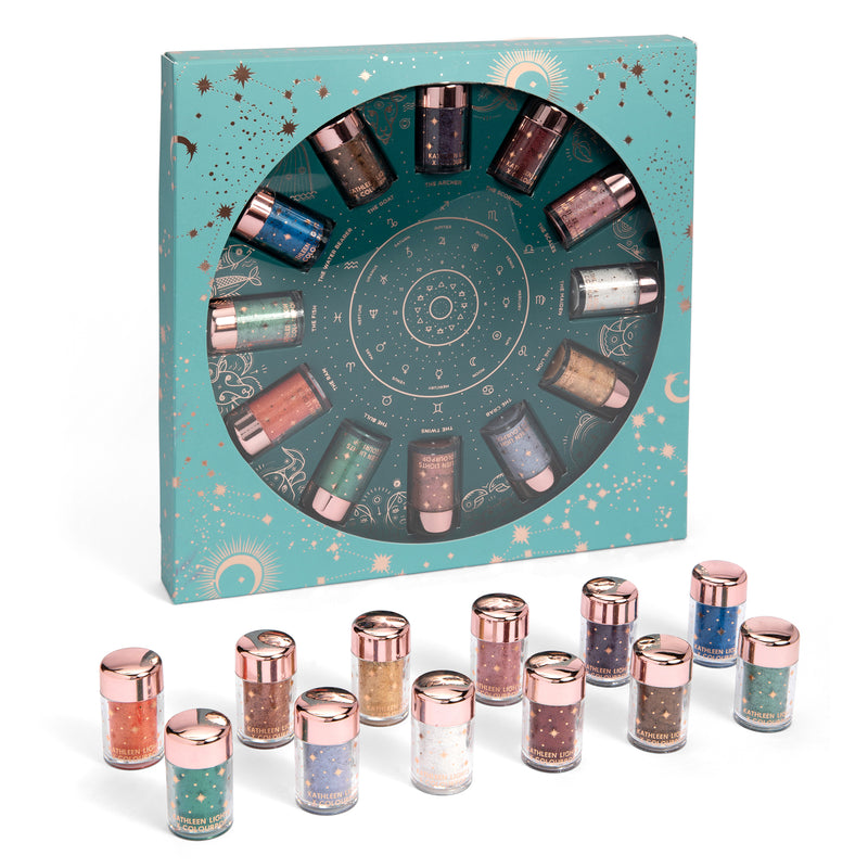 ColourPop x Kathleen Lights The Zodiac Loose Pigment Collection