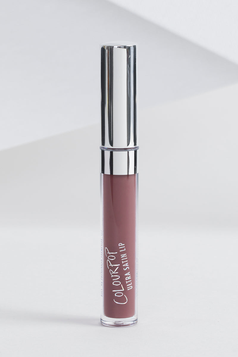 Too Lips deep dark plum brown Ultra Satin Lip