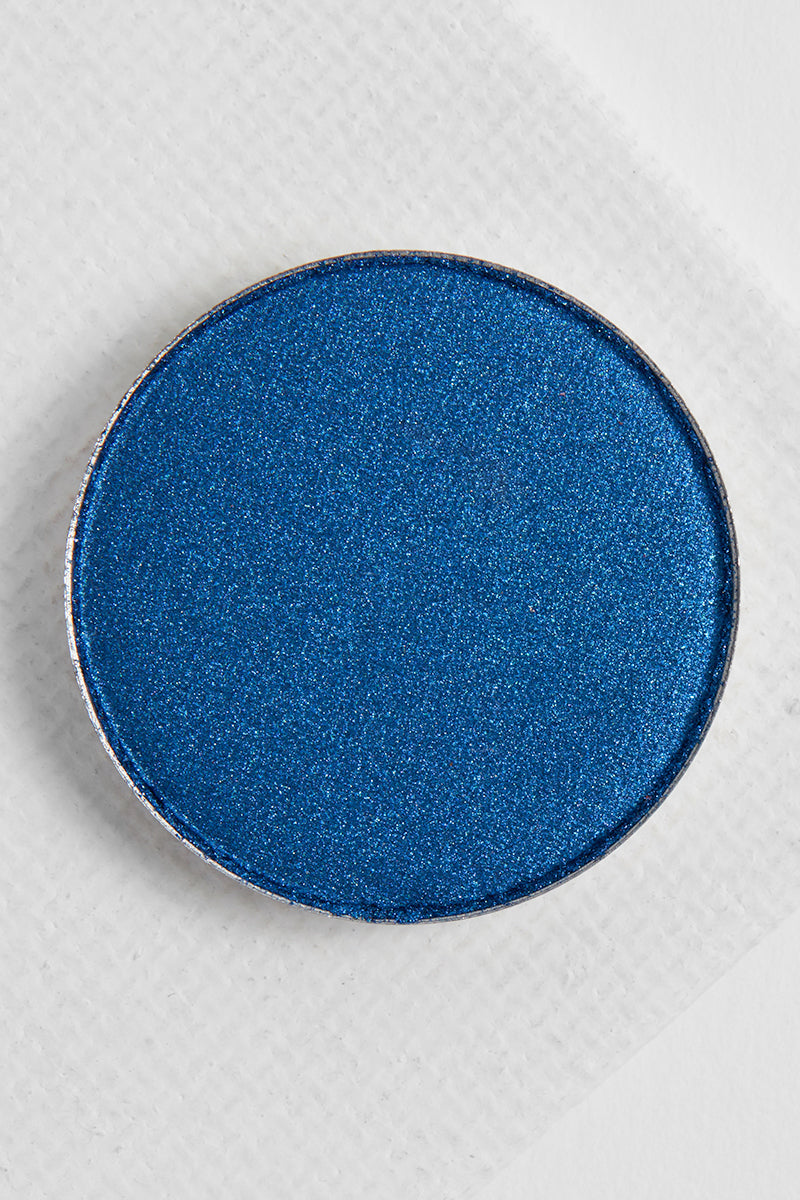Two Piece satin rich navy Pressed Powder eye Shadow