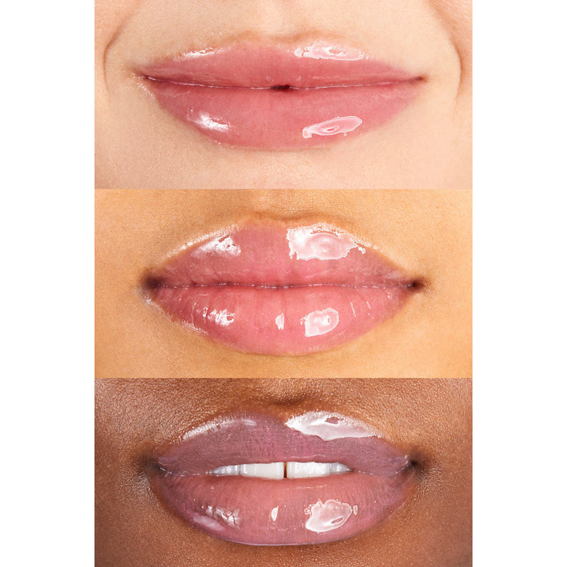 ColourPop Type of way So Juicy Plumping Gloss Cool Petal Pink Your lips but bigger. Creates fuller looking lips with the ultimate glassy, high shine finish.
