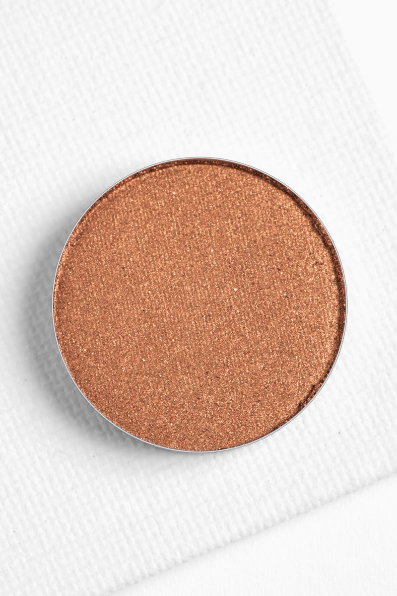 Up & Atom metallic golden amber Pressed Powder eyehsadow
