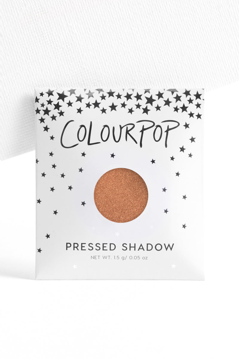 Up & Atom metallic golden amber Pressed Powder eyehsadow in unit carton