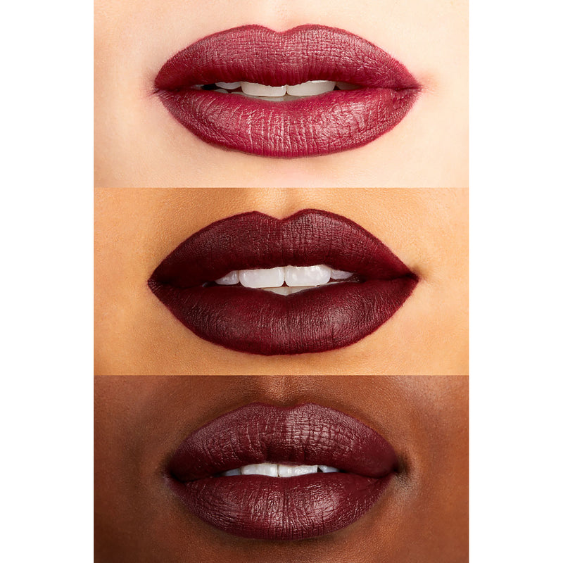 #DisneyVillainsAndColourPop Disney Villains Ursula crème blackened plum Lux Lipstick Lip Swatches