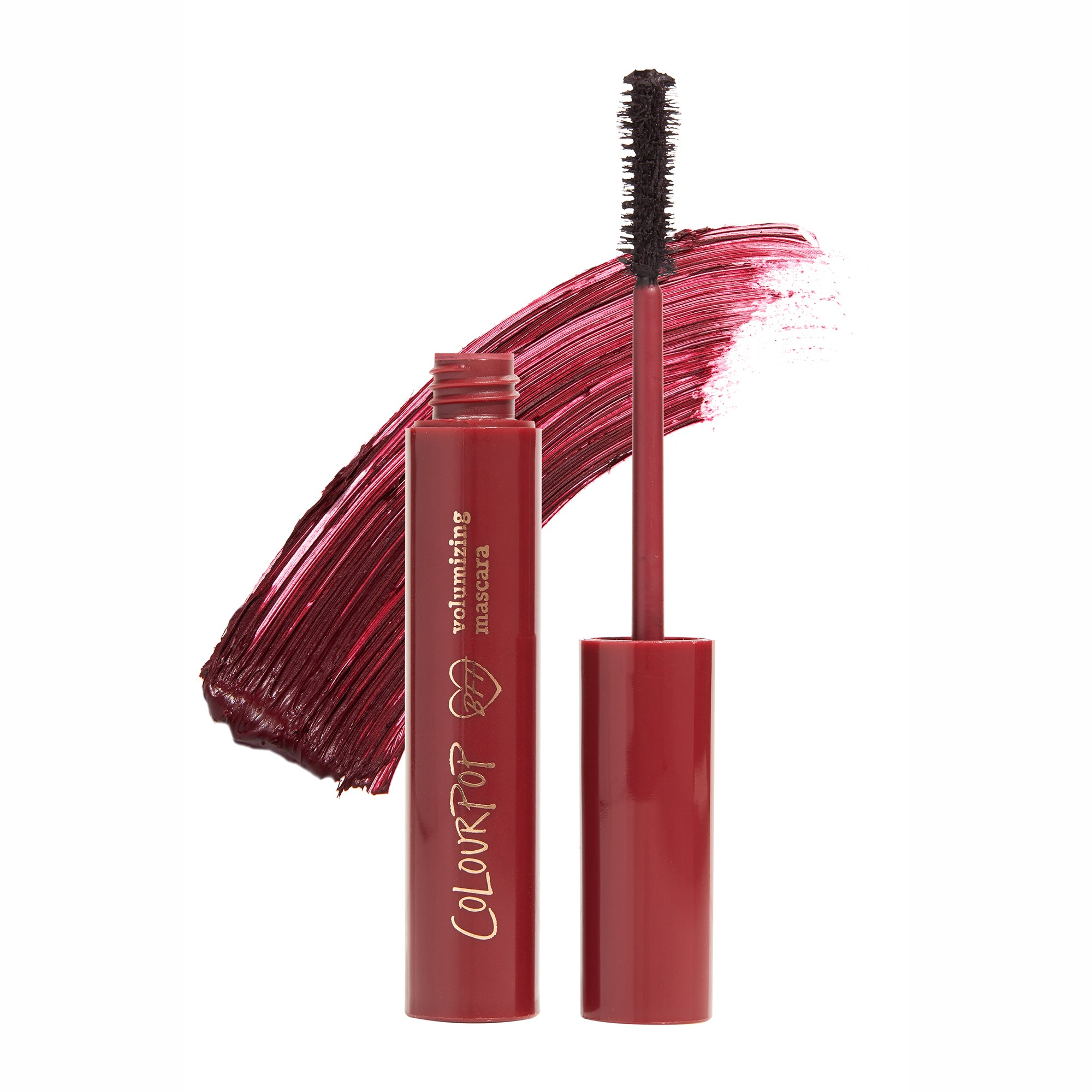 Wine O'Clock a deepened burgundy BFF Mascara