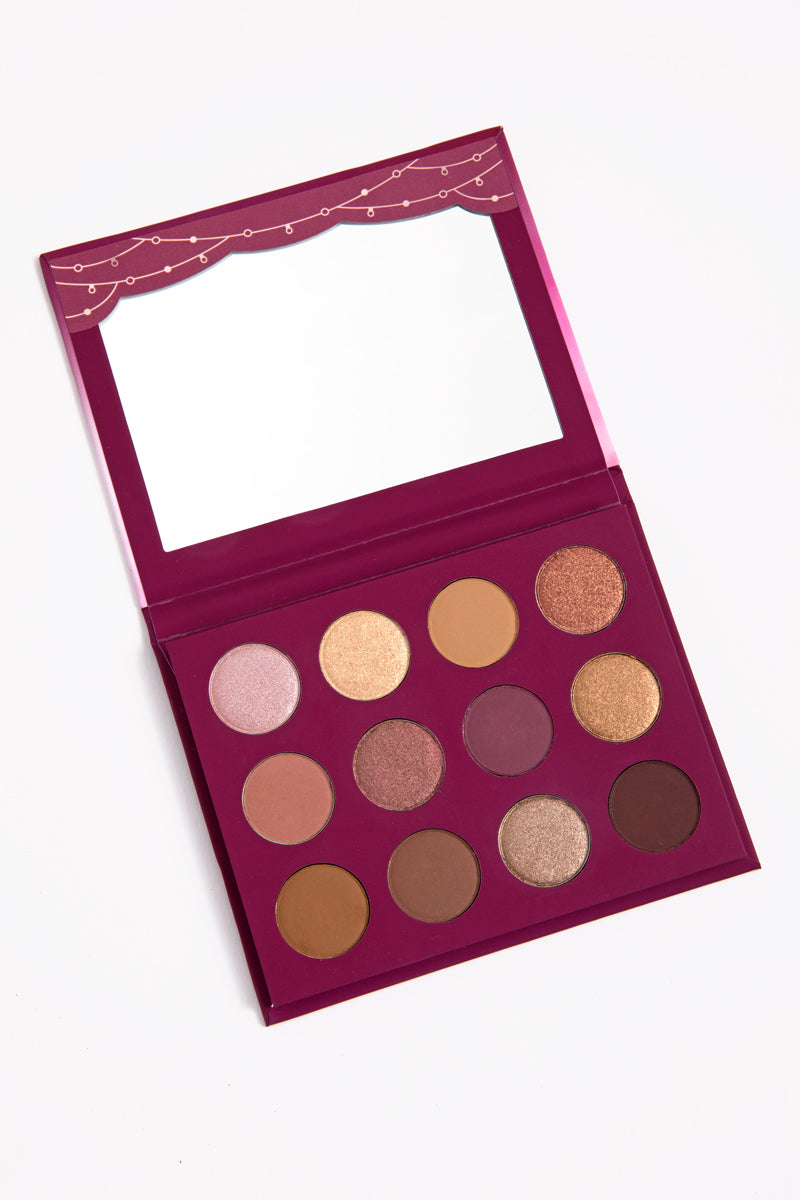 You Had Me At Hello Pressed Powder Eyeshadow Palette with mirror