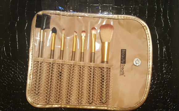 Makes brushes set-gold - Endless Fashions LLC