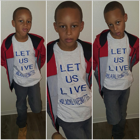 kids: Let Us Live tee - Endless Fashions LLC