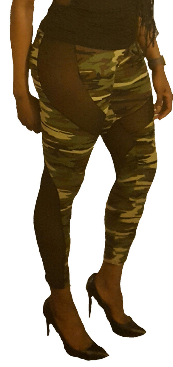 Provocative Camo leggings - Endless Fashions LLC