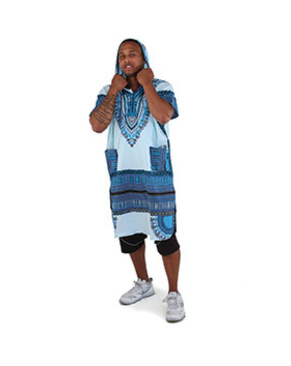 Long Dashiki Hoodie - Endless Fashions LLC