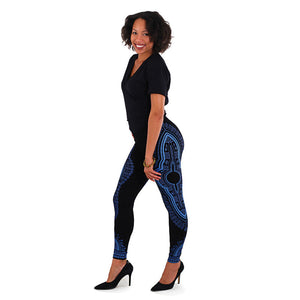 Traditional Print Leggings - Endless Fashions LLC