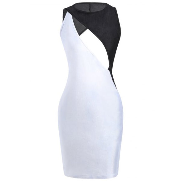 Sexy Cut Out Bodycon Dress - Endless Fashions LLC