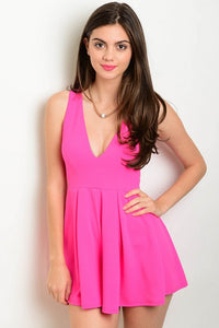 Pink Romper - Endless Fashions LLC