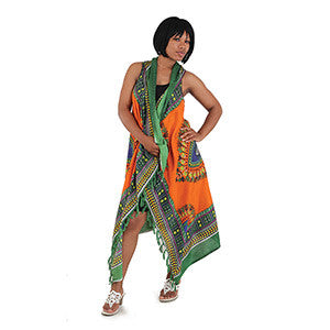 Long Sarong Sleeveless Vest Cardigan- 6 COLORS! - Endless Fashions LLC