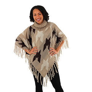 Turtleneck Poncho- 4 Colors! - Endless Fashions LLC