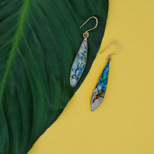 Long Opal Earrings 011