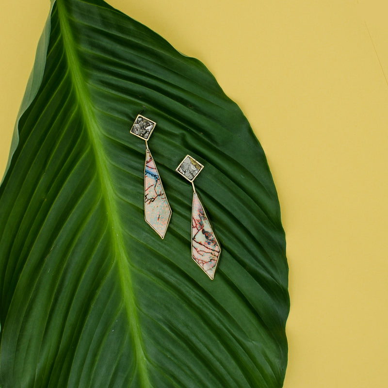 Convertible Opal Drop Earrings