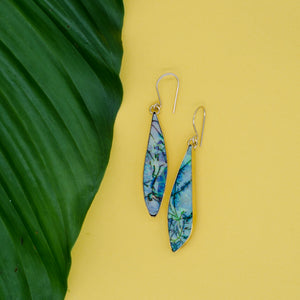 Long Opal Earrings 010