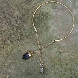Lariat with Crystal