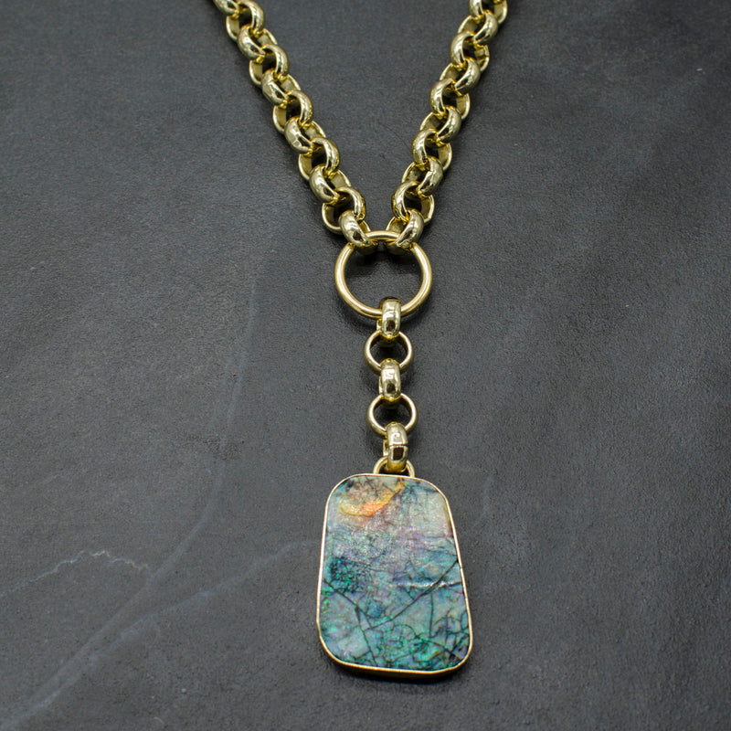 Rianna Necklace w/ Opal