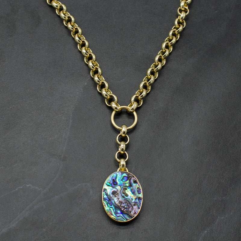 Rianna Necklace w/ Abalone