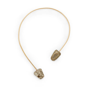 Golden Pyrite Origin Necklace