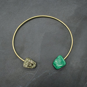 Origin Collar w/ Malachite