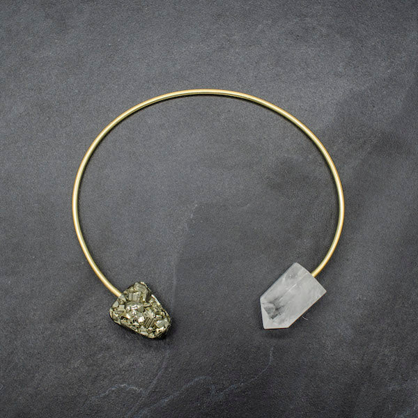 Clear Crystal Origin Collar