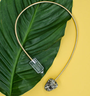 Clear Crystal Origin Necklace