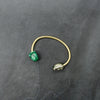 Malachite and Pyrite Origin Bracelet