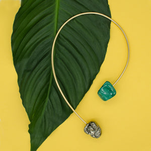 Origin Necklace w/ Malachite