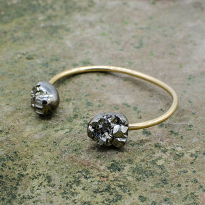 Double Pyrite Origin Bracelet