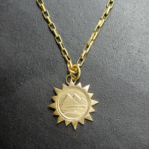Pyramid of the Sun Necklace