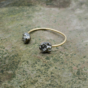 Origin Bracelet with Pyrite