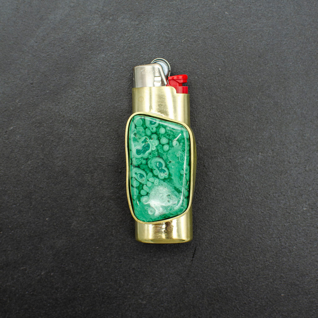 Malachite Lighter Case