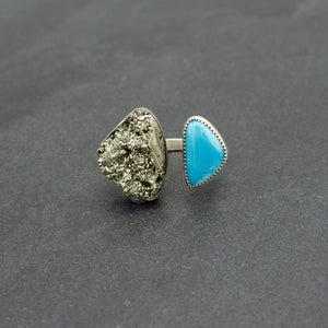 Turquoise Galactic Ring