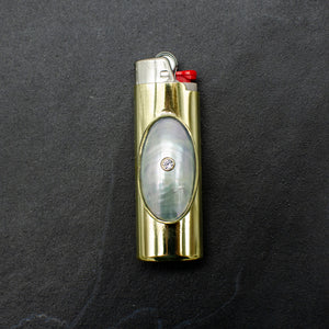Mother of Pearl Inlay  Lighter Case