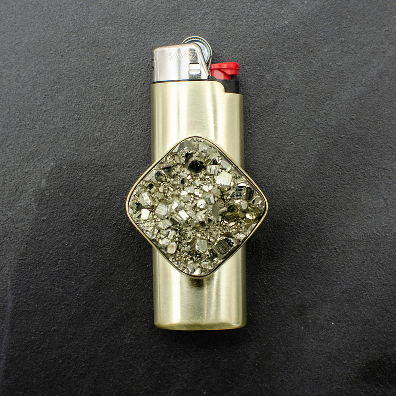 Pyrite lighter Case