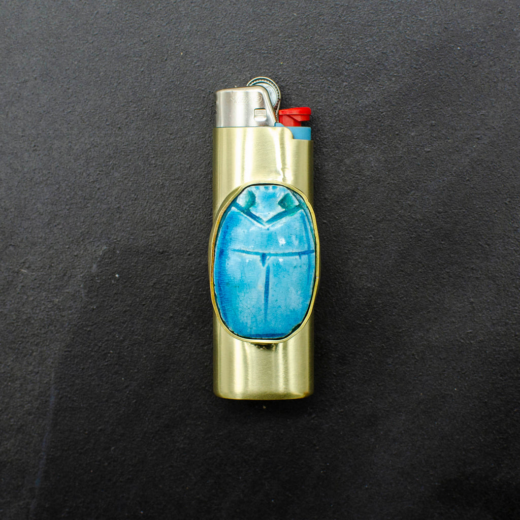 Egyptian Scarab Lighter Case