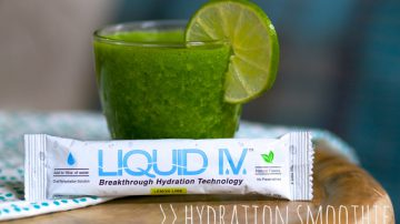 Hydration Smoothie Recipe on Fit for Broadway