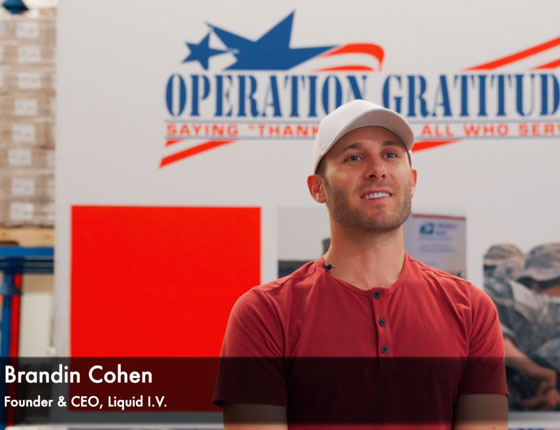 Operation Gratitude: Sending LIV to Our Military Heroes Around the World
