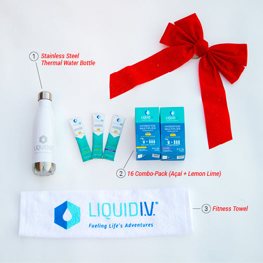 Holiday Hydration Starter Pack - 30% Savings!