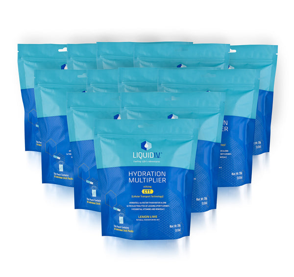 Wholesale: Liquid I.V. 16-Count Pouch Case - (192 Sticks Included)
