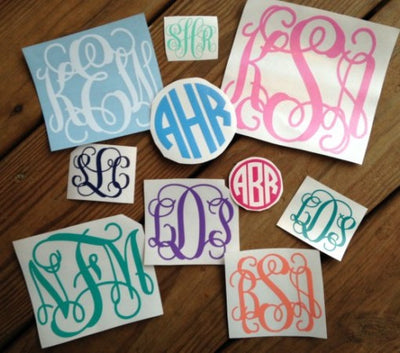 Questions we get asked ALL the time about Our Vinyl Decals…