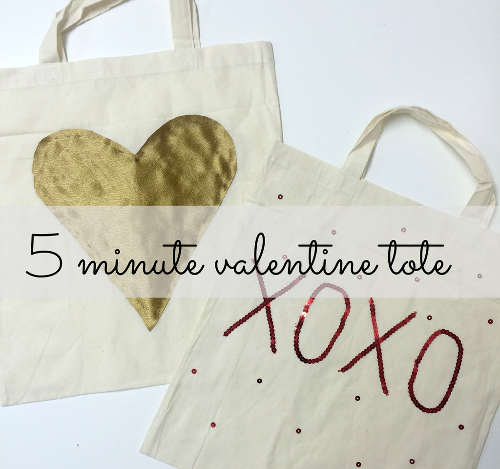 DIY Valentines Day Tote - 5 Minute Craft