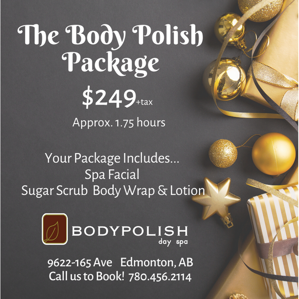 Christmas Package - The Body Polish Card