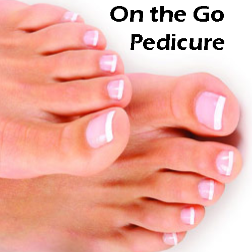 Pedicure On The Go Card